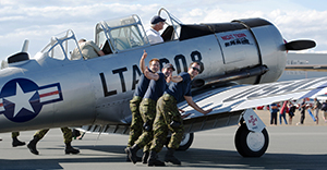 Thumbs Up - Comox Air Show, 2013